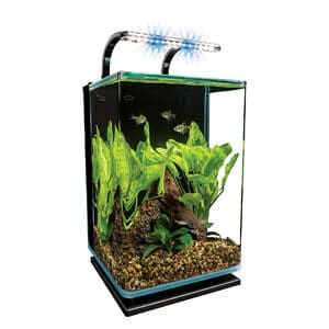 MarineLand 5 Gallon Nano Aquarium