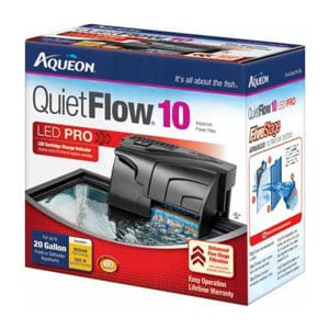 The Affordable Filter Pump – Aqueon QuietFlow Filter